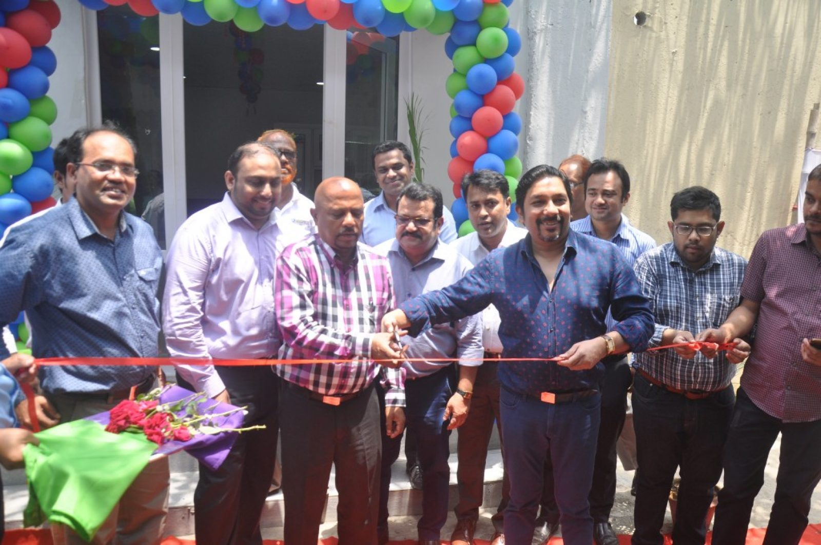 INAUGURATION CEREMONY OF UPVC SHOWROOM.